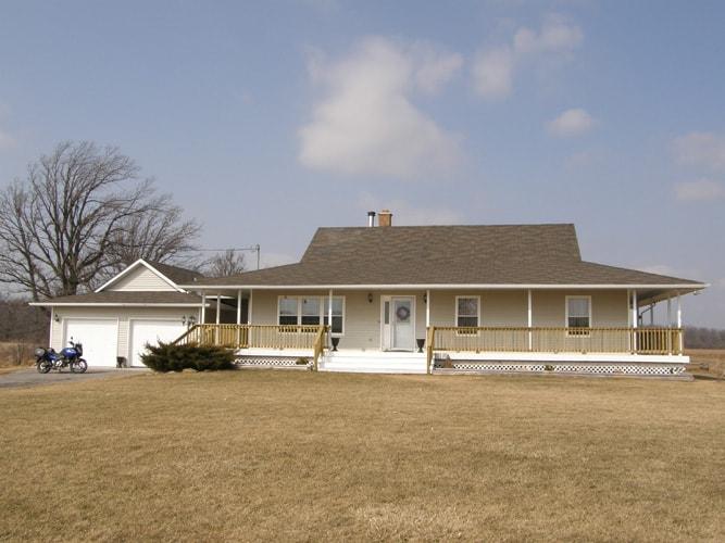 Custom ranch style home