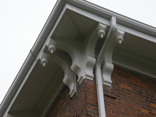 Refurbished exterior elements