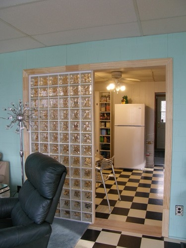 Renovated kitchen room