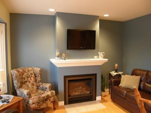 Living room renovation