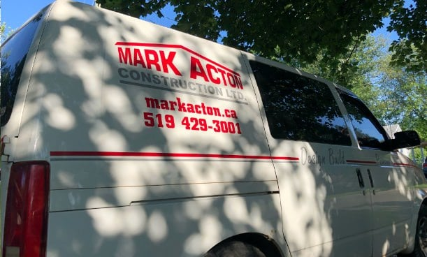 Mark Acton Van